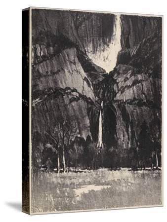The Lower Falls, Yosemite, 1912