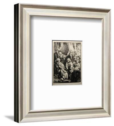 Joseph Racontant Ses Songes (B37)-Amand Durand-Framed Collectable Print