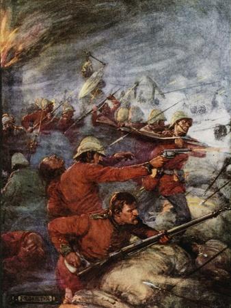 Battle of Rorke's Drift, Natal, Angol-Zulu War, 1879