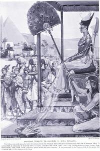 Bringing Tribute to Ramses II (XIX Dynasty), C.1920 by Joseph Ratcliffe Skelton