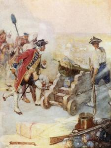 Clive Fired One of the Guns Himself by Joseph Ratcliffe Skelton