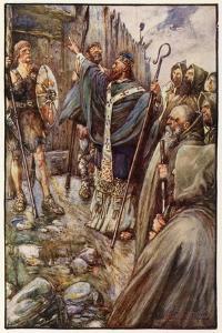 Saint Columba by Joseph Ratcliffe Skelton