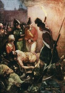 Tippoo Sultan's Body Was Found Buried Beneath Those of their Followers by Joseph Ratcliffe Skelton