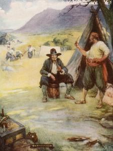 Where Now the Graet City of Cape Town Stands, They Set Up their Tents and Huts by Joseph Ratcliffe Skelton