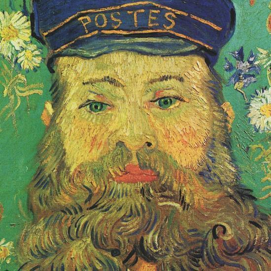 Joseph Roulin (detail)-Vincent van Gogh-Art Print