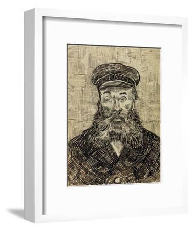 Joseph Roulin-Vincent van Gogh-Framed Art Print