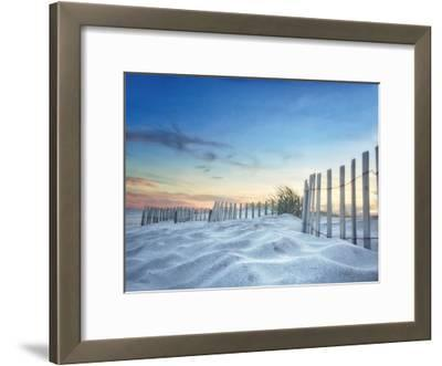 Fenced Sunset