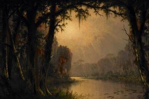Bayou Teche, Louisiana, 1883 by Joseph Rusling Meeker