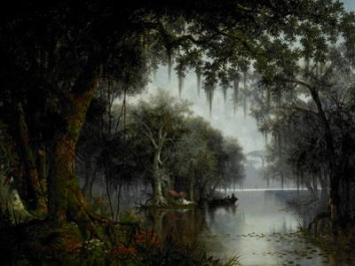 The Land of Evangeline, 1874 by Joseph Rusling Meeker