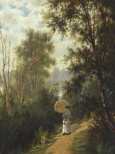 The Morning Walk, 1881 by Joseph Rusling Meeker
