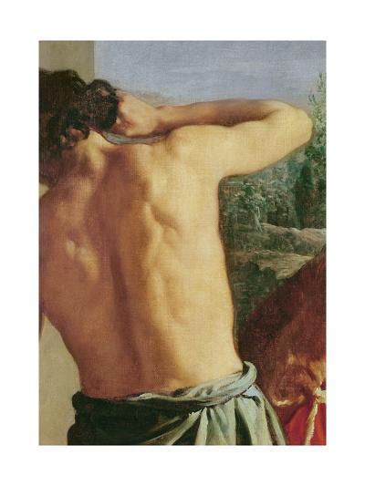 Joseph's Bloody Coat Brought to Jacob-Diego Velazquez-Giclee Print