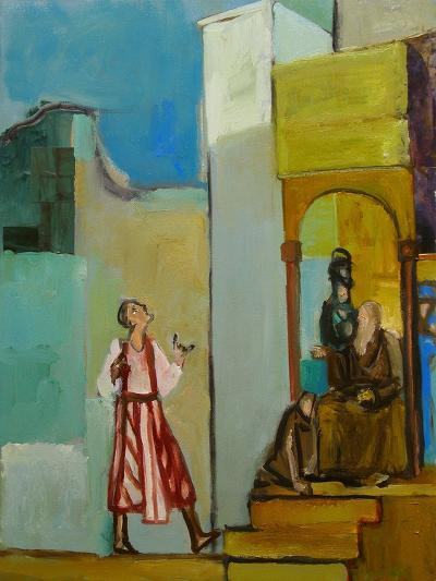 Joseph Sent to His Brothers, 1998-Richard Mcbee-Giclee Print
