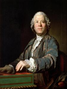 Christoph Wilibald Gluck at the Spinet, 1775 by Joseph Siffred Duplessis