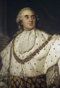 Louis XVI en costume de sacre by Joseph Siffred Duplessis