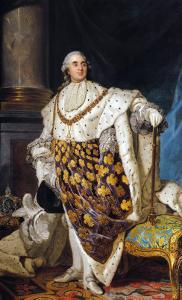Louis XVI in Coronation Robes, after 1774 by Joseph Siffred Duplessis