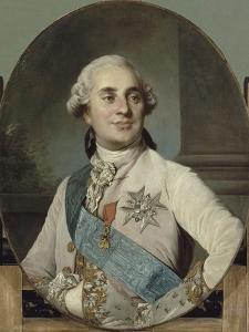 Louis XVI, roi de France et de Navarre (1754-1793) représenté en 1778 by Joseph Siffred Duplessis