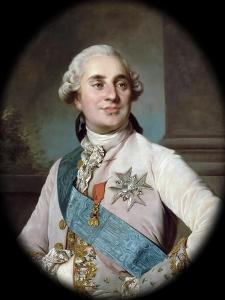 Portrait of the King Louis XVI (1754-179) by Joseph-Siffred Duplessis