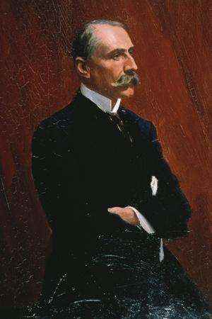 Edward Elgar - portrait