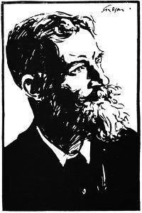 George Bernard Shaw - by Joseph Simpson