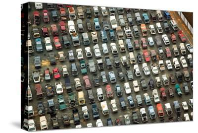 Aerial View of Wrecked Cars in Charlotte, North Carolina