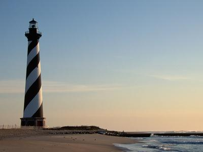 Cape Hatteras Lighthouse at Sunrise