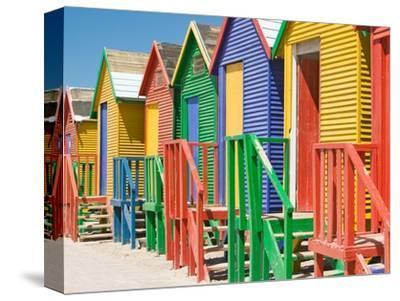 Colored Beach Huts