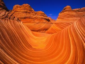 Coyote Butte's Sandstone Stripes by Joseph Sohm