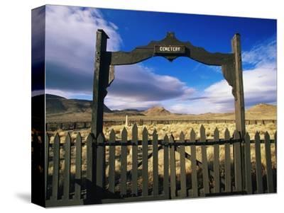 Gate To Historical Pioneer Cemetery
