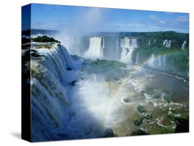 Iguazu Waterfalls and Rainbow.
