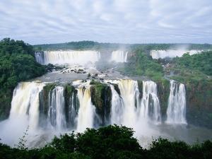 Iguazu Waterfalls in South America by Joseph Sohm