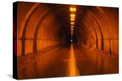 Interior of a Tunnel