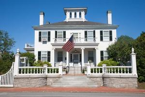 Maine Governors Mansion by Joseph Sohm
