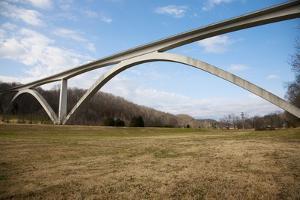 Natchez Trace Parkway Arched Bridge, Nashville, TN by Joseph Sohm
