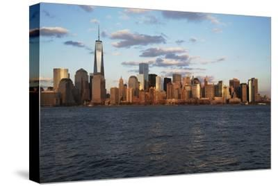 Panoramic View of New York City Skyline on Water Featuring One World Trade Center (1Wtc), Freedom T