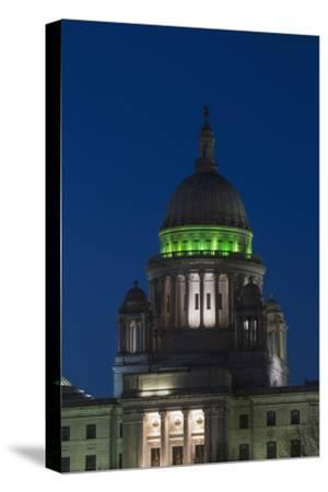 Rhode Island State Capitol at Dusk, Providence, Rhode Island, 03.18.2014