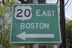 Route 20 East, Boston, MA by Joseph Sohm