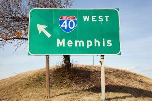 Route 40 to Memphis by Joseph Sohm