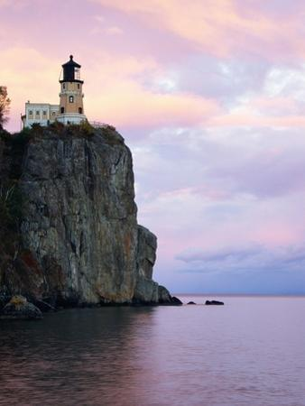 Split Rock Lighthouse on Lake Superior by Joseph Sohm