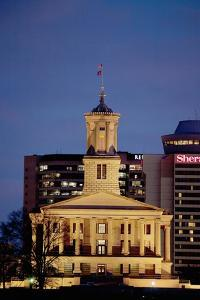 State Capitol of Tennessee, Nashville at Dusk by Joseph Sohm