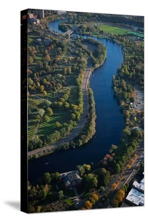 Sunrise Aerials of Charles River, Cambridge, Boston and New England