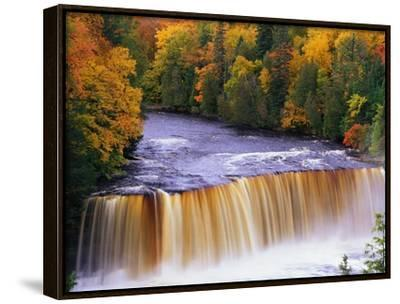 Tahquamenon Falls in Autumn