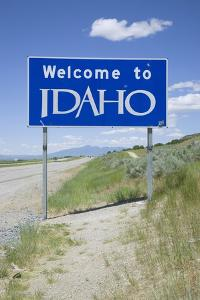 Welcome to Idaho by Joseph Sohm