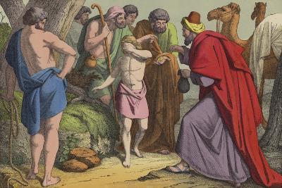 Joseph Sold by His Brethren--Giclee Print
