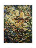 Battle of Lights, Coney Island, Mardi Gras, 1913-14-Joseph Stella-Art Print
