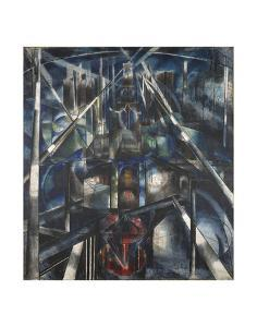 Brooklyn Bridge, 1919-20 by Joseph Stella