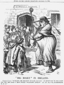 Big Bogey in Ireland, 1869 by Joseph Swain