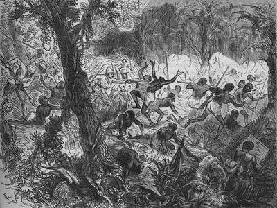 'Fight at Abracrampa', 1880