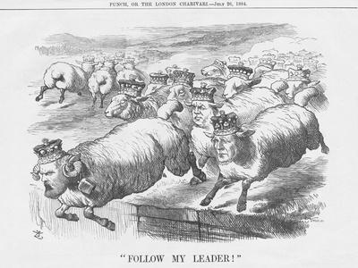 Follow My Leader!, 1884