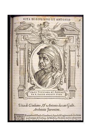 Giuliano da Sangallo, ca 1568