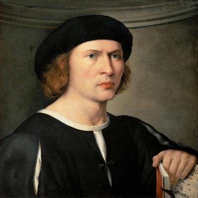 Portrait of a musician, ca 1515-1520